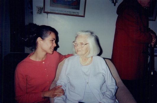 Elsa with Magda Gerber